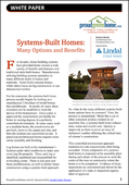 Systems-Built Homes: Many Options and Benefits