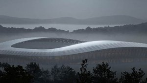 Plans to build world's first all wooden soccer stadium unveiled