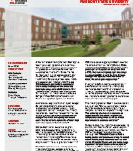 Mitsubishi Electric VRF Provides Energy-Efficiency, Year-Round Comfort for Fairmont State University