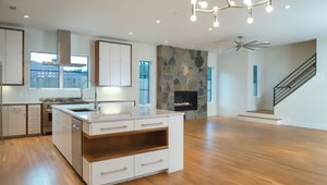 ENERGY STAR appliances and ceiling fans add to energy savings.