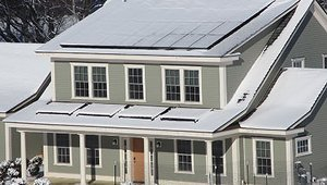 Net Zero test home ends the year with energy to spare