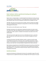 Rabe Hardware delivers geothermal heating and cooling for Eastern Iowa homeowners