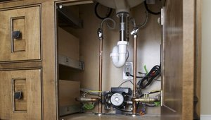 On-demand hot water pump cuts water and energy waste in high performance home