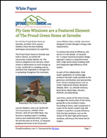 Ply Gem Windows are a Featured Element of The Proud Green Home at Serenbe