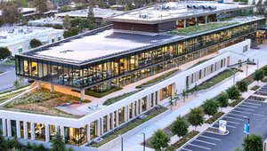Intuit's new green-roofed campus connects nature, public spaces