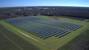 Carter leases land to solar power much of hometown