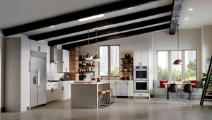 Designer kitchen appliances blend style and performance