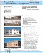 Amvic Building System Project Profile - Maple Children's Learning Center