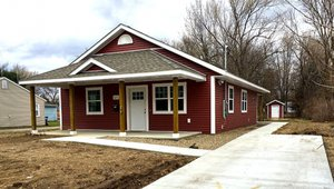 Kalamazoo Valley Habitat for Humanity built this 1,120-square-foot home in Kalamazoo, Michigan, to the performance criteria of the U.S. Department of Energy Zero Energy Ready Home (ZERH) program.