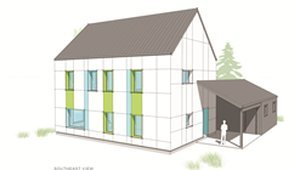Passive House certified wall assemblies form 11 new prefab home designs
