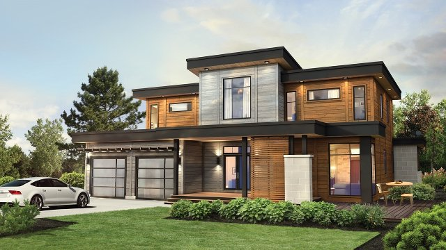High Performance Engineered Wood Homes Win Innovation Award (Video)