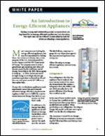 An Introduction to Energy-Efficient Appliances