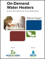 On-Demand Water Heaters: Greater Efficiency and Many Applications