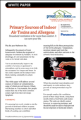 Primary Sources of Indoor Air Toxins and Allergens