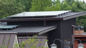 Sustainable metal roofing lends architectural style to green homes