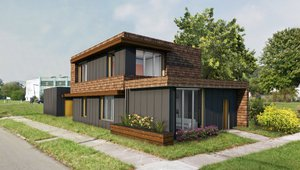 First Zero Energy Home in Detroit Under Construction