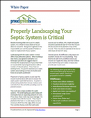 Properly Landscaping Your Septic System is Critical
