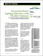 Increasing Home Lighting Efficiency with Flexible Solutions