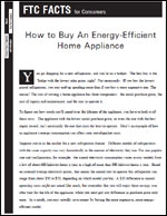 How to Buy an Energy-Efficient Home Appliance