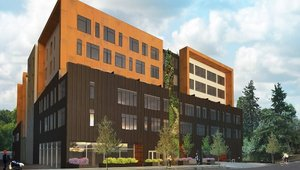 Mixed-use apartment complex aims for LEED Platinum