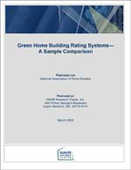 Green Home Building Rating Systems - A Sample Comparison