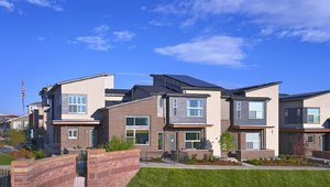 A highly efficient building envelope and a 6.2-kW solar PV system combine to provide the owners of this townhome with energy costs savings of $2,850 per year compared to typical new construction.