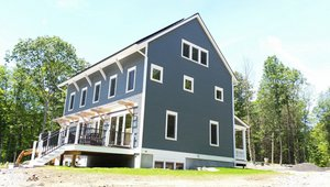 BPC Green Builders built this 4,711-square-foot custom home in Clinton, Connecticut, to the high performance criteria of the U.S. Department of Energy Zero Energy Ready Home (ZERH) program.