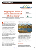 Tapping into Bodies of Water for Economical, Efficient Energy