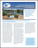 Decentralized Wastewater Treatment Can Be Cost Effective and Economical