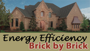 Brick Siding: Helping keep moisture out
