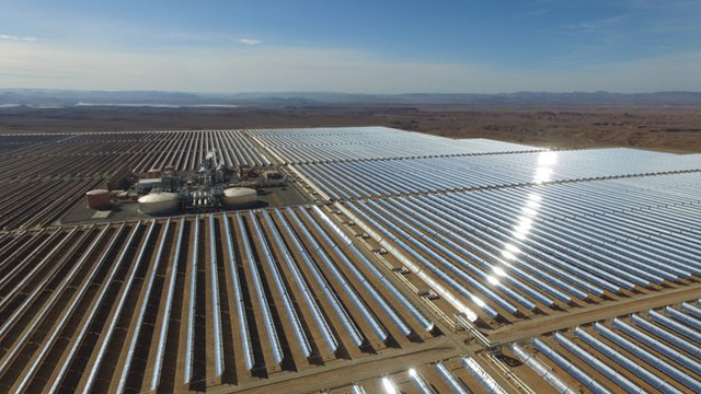 Morocco starts expansion of nation's largest solar array