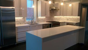 The home has an ENERGY STAR dishwasher and laundry equipment for energy and water savings.