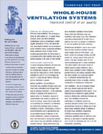 Whole-House Ventilation Systems and Improved Control of Air Quality