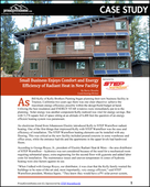 Small Business Enjoys Comfort and Energy Efficiency of Radiant Heat in New Facility