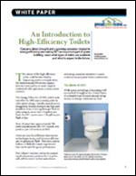 An Introduction to High-Efficiency Toilets