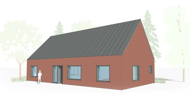 Prefab Passive House Assembled On Site in 1 Week