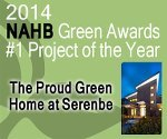 Proud Green Home receives NAHB 'Project of the Year Award for Single Family-Small Volume'