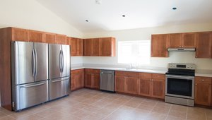 ENERGY STAR rated appliances save energy and water in the kitchen.
