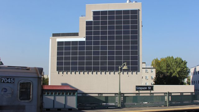 N.Y. health center capitalizes on 'solar wall'