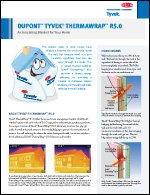 DuPont™ Tyvek® ThermaWrap™ R5.0: An Insulating Blanket for Your Home
