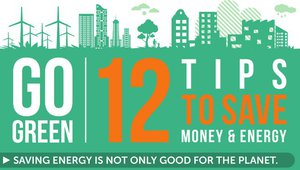 12 Steps to Save Energy and Money in Your Home (Infographic)