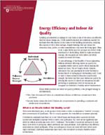 Energy Efficiency and Indoor Air Quality