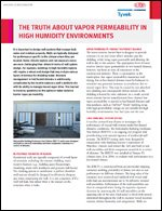 The Truth About Vapor Permeability in High Humidity Environments