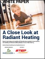 A Close Look at Radiant Heating Options