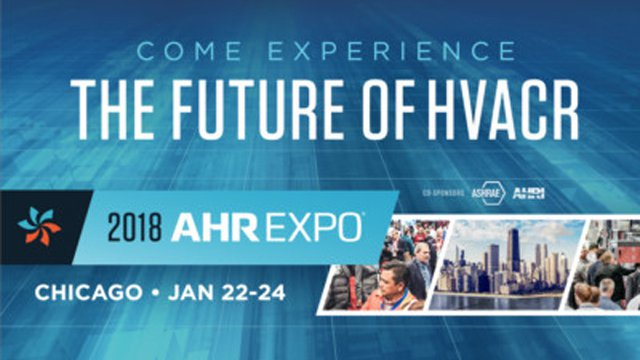 AHR Expo announces 2018 innovation award winners