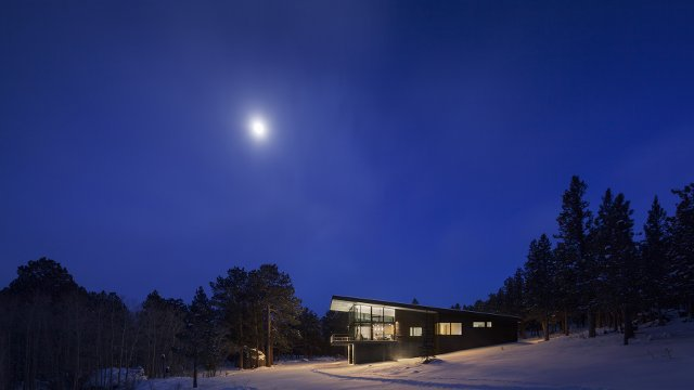 Colorado Mountain Retreat Designed for Net Zero Living