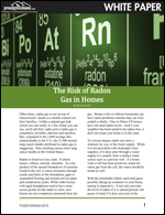 The Risk of Radon Gas in Homes