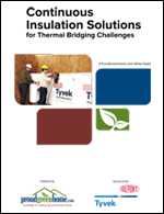 Continuous Insulation Solutions for Thermal Bridging Challenges