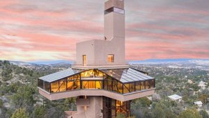 The World's Tallest Home on the Market - and It's Solar Powered