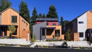 <p>Three models, currently open for tours are representative of the homes in the first of a series of pocket neighborhoods that will make up Grow Community, powered entirely by renewable energy and designed to make a sustainable lifestyle easy and attainable for its residents.</p>